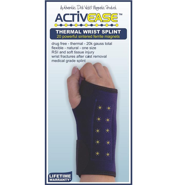 Dick Wicks Activease Thermal Magnetic Wrist Splint (Right)