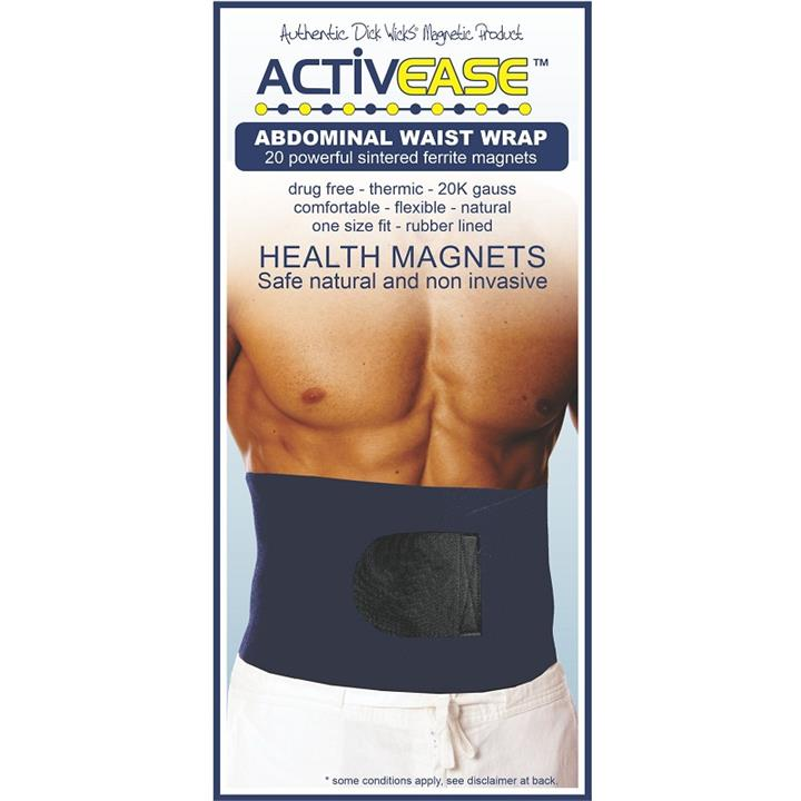 Dick Wicks Activease Thermal Magnetic Waist Wrap (One Size)