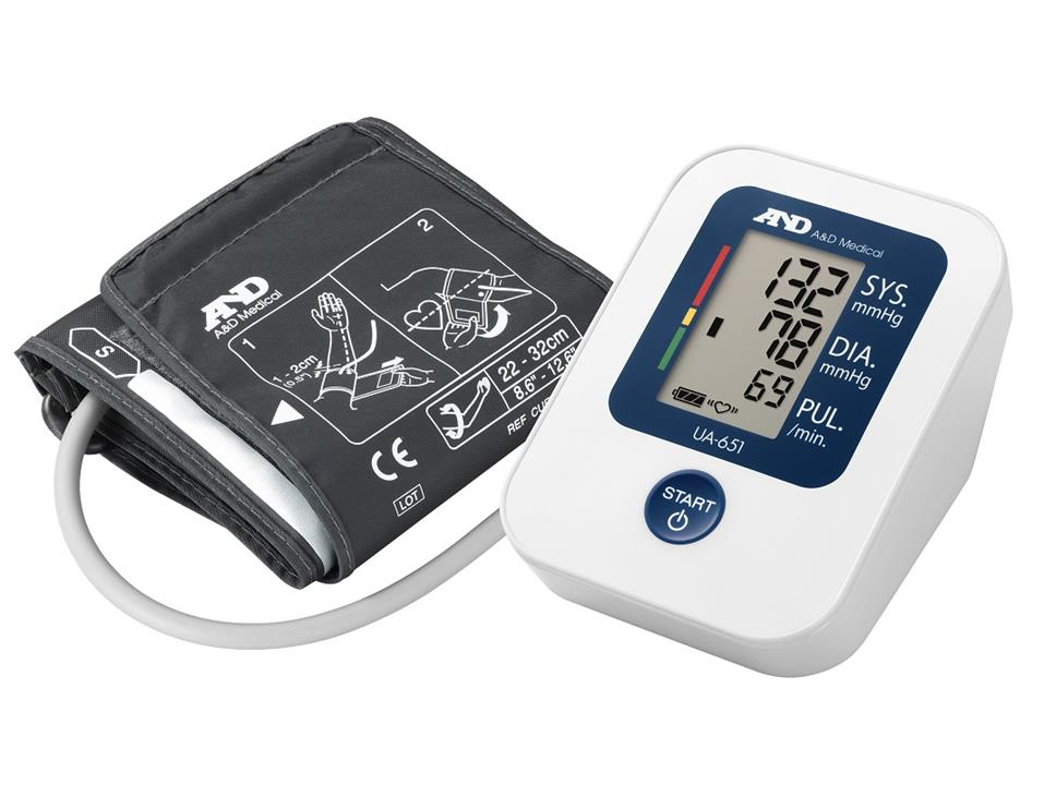 A&D Medical Automatic Blood Pressure Monitor UA-651SL