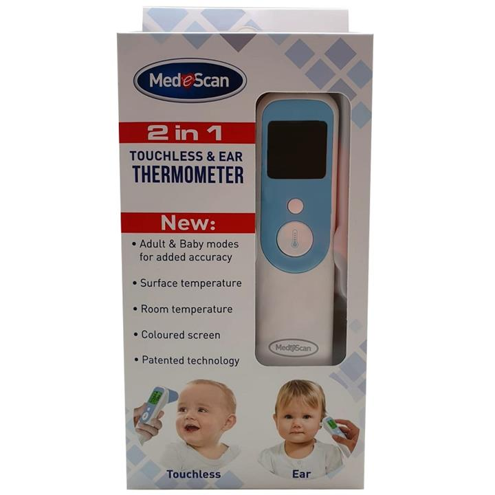 Medescan 2 in 1 Touchless & Ear Thermometer
