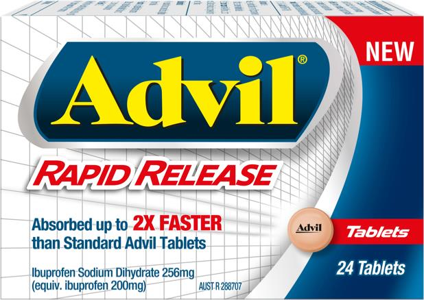 Advil Rapid Release Tab X 24