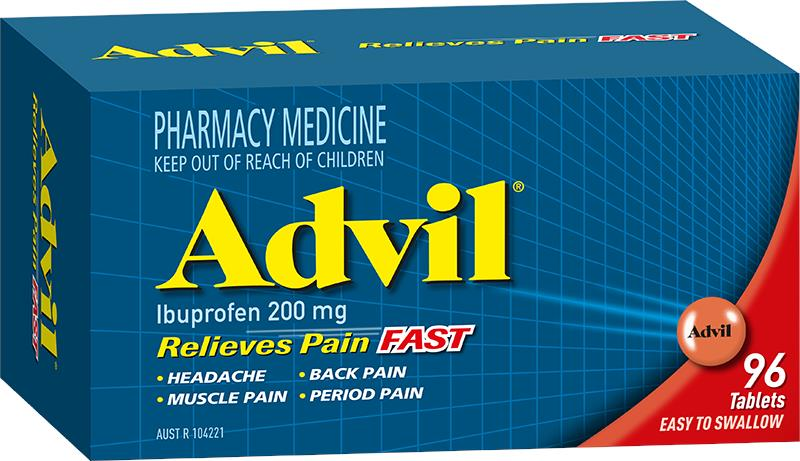 Advil Tab X 96 (Limit 1 per order)