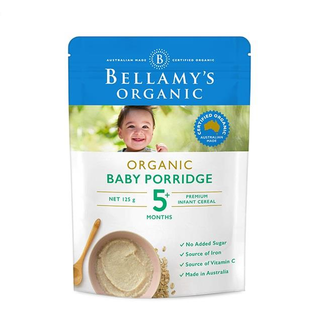 Bellamy's Organic Baby Porridge 125g (Limit 2 per order)