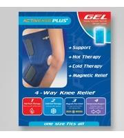 Dick Wicks Activease PLUS Magnetic Knee Support (One Size)