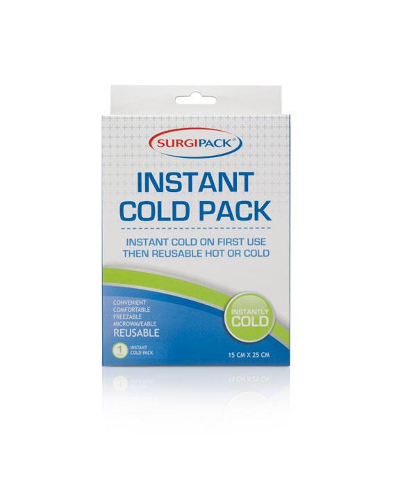 Surgi Pack Instant Cold, Reusable Hot & Cold Pack