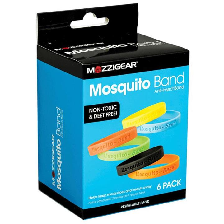 Mosquito-Band Anti-Insect Band X 6