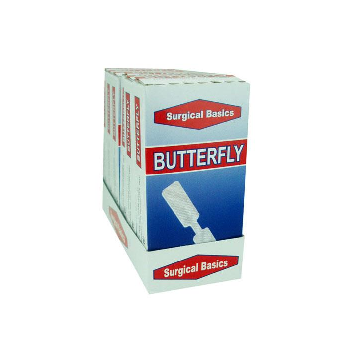 Surgical Basics Butterfly Band Aids X 10