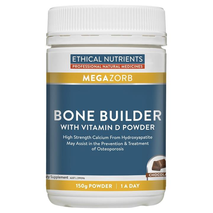 Ethical Nutrients Megazorb Bone Builder with Vitamin D Powder 150g