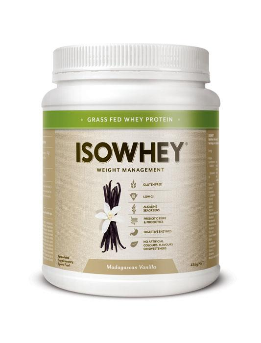 IsoWhey Complete Weight Loss – Madagascan Vanilla 448g