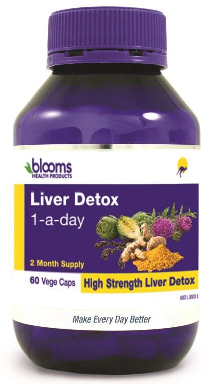 Henry Blooms Liver Detox 1-A-Day Cap X 60