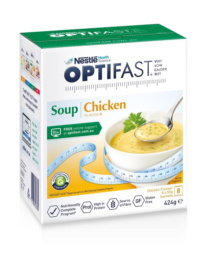 Optifast Chicken Soup 53g X 8