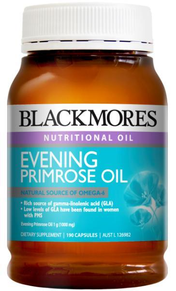 Blackmores Evening Primrose Oil 1000mg Cap X 190