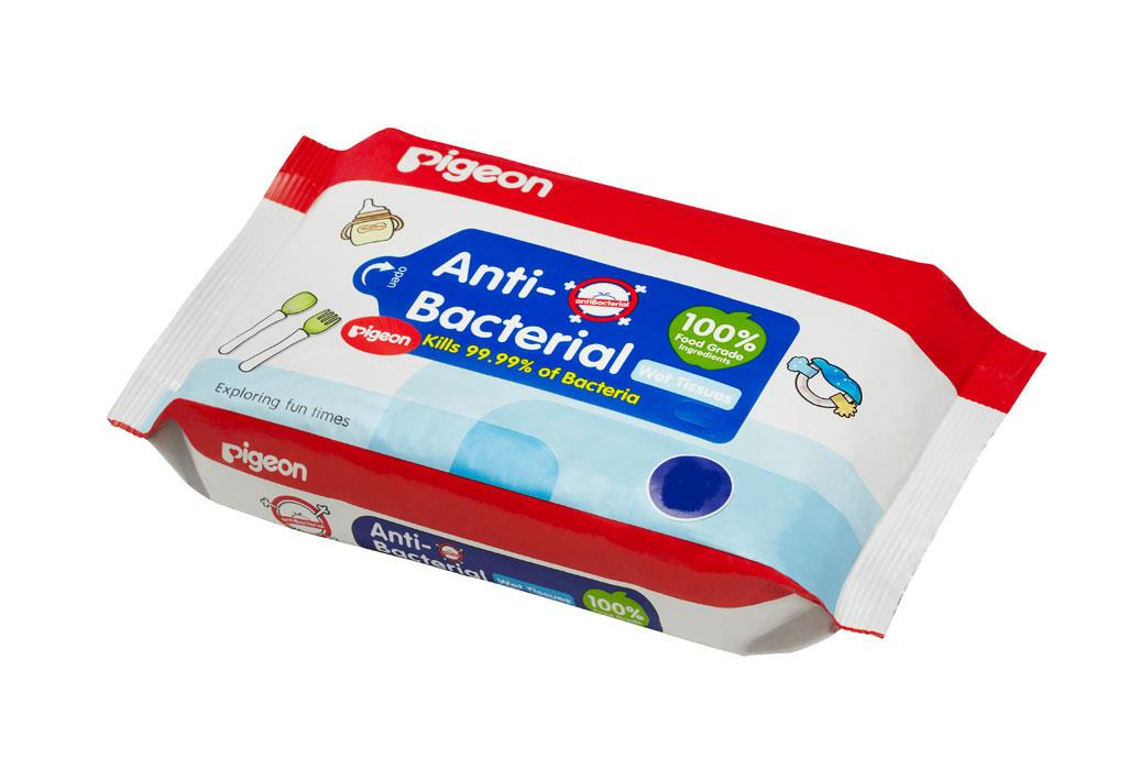 Pigeon Anti Bacterial Wipes X 20