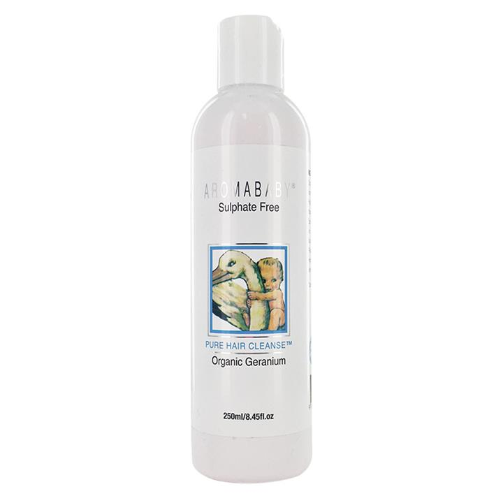 Aromababy Pure Hair Cleanse With Organic Geranium 250ml