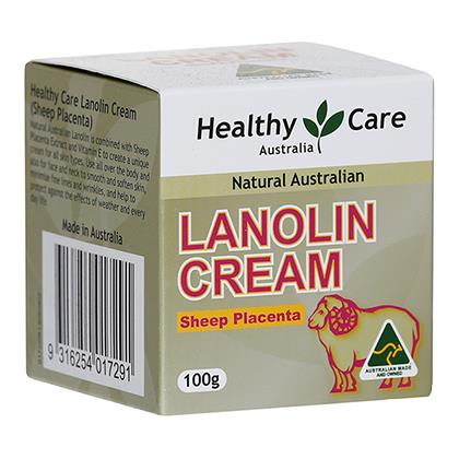 Healthy Care Lanolin With Sheep Placenta 100g