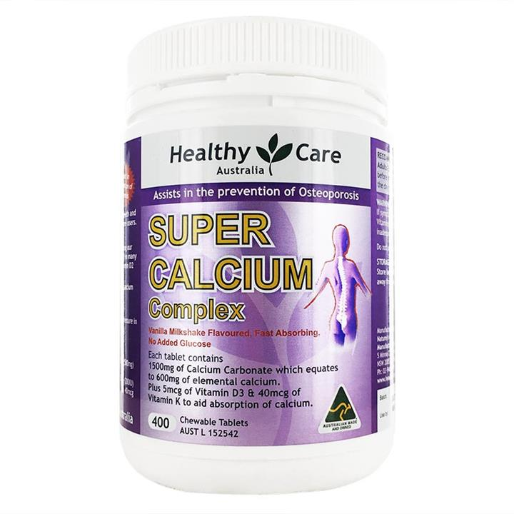 Healthy Care Super Calcium Complex Tab X 400