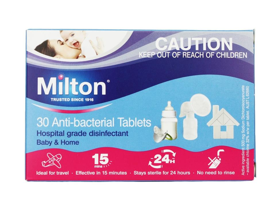 Milton Anti Bacterial Tab X 30