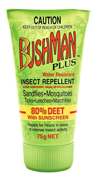 Bushman Plus Insect Repellent (With Sunscreen) 75g