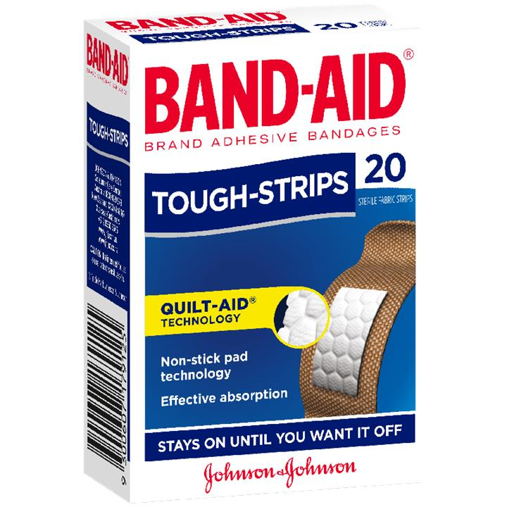 Band-Aid Tough-Strips Regular X 20