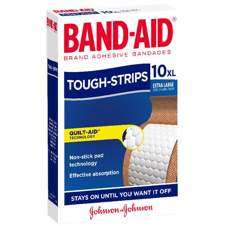 Band-Aid Tough-Strips Extra Large X 10
