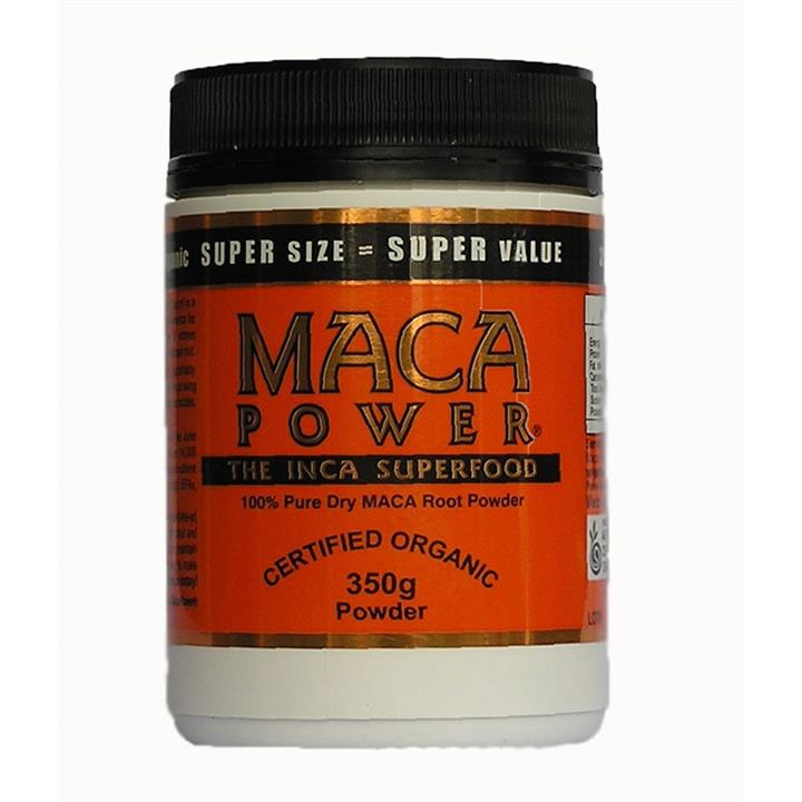 Maca Power Organic Root Powder 350g