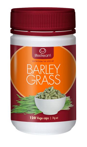 Lifestream Barley Grass Cap X 120