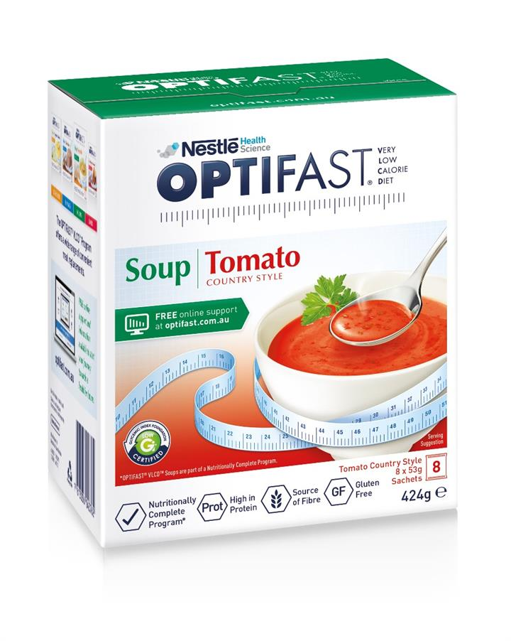 Optifast Tomato Soup 53g X 8