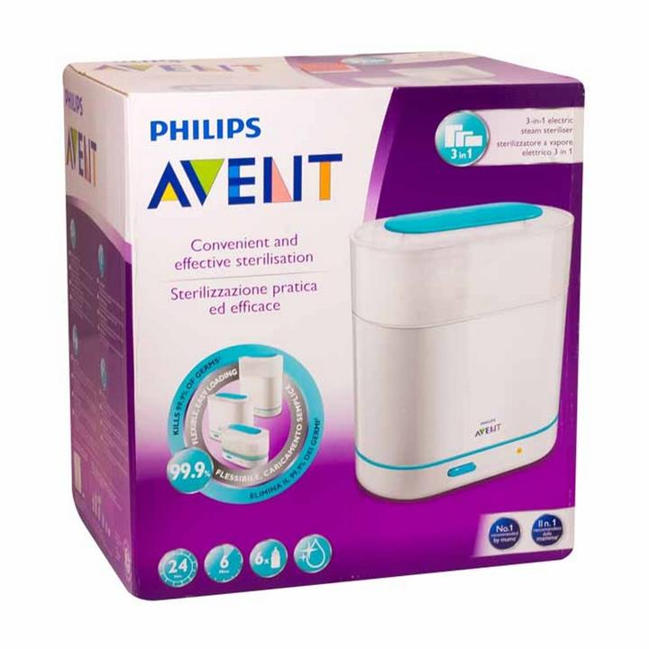 Avent Electric Steam Steriliser 3-in-1