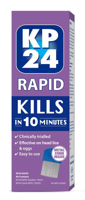 KP 24 Rapid 250ml with Comb