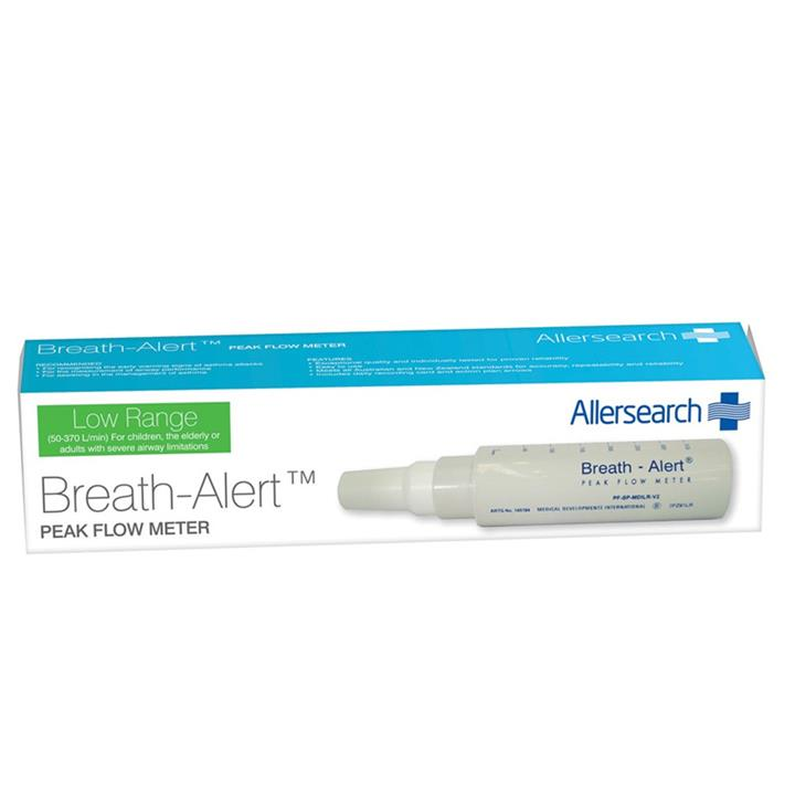 Allersearch Breath-Alert Peak Flow Meter Low