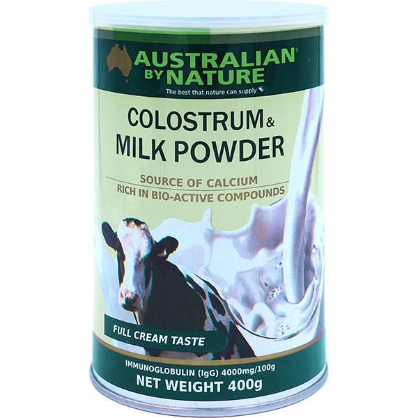 Australian By Nature Colostrum & Milk Powder 400g