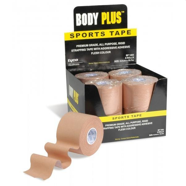 Body Plus Sports Strapping Tape 5cm X 13.7m