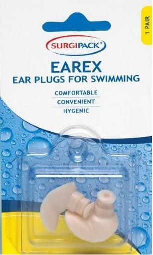 Surgi Pack Earex Ear Plugs for Swimming X 1 Pair