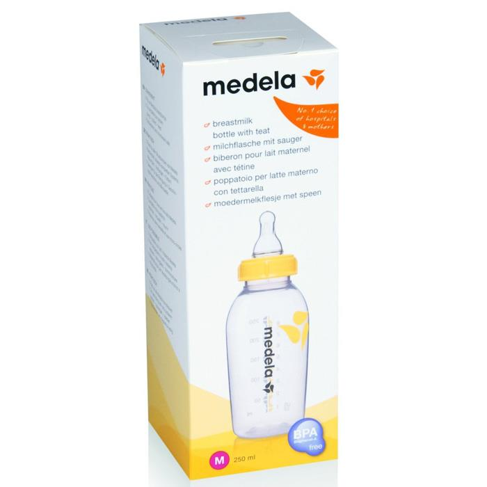 Medela Breastmilk Bottle 250ml with Teat