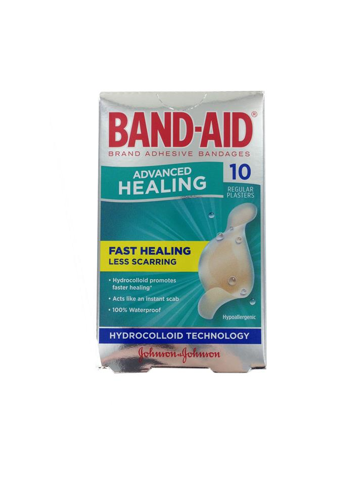 Band-Aid Advance Healing Regular X 10