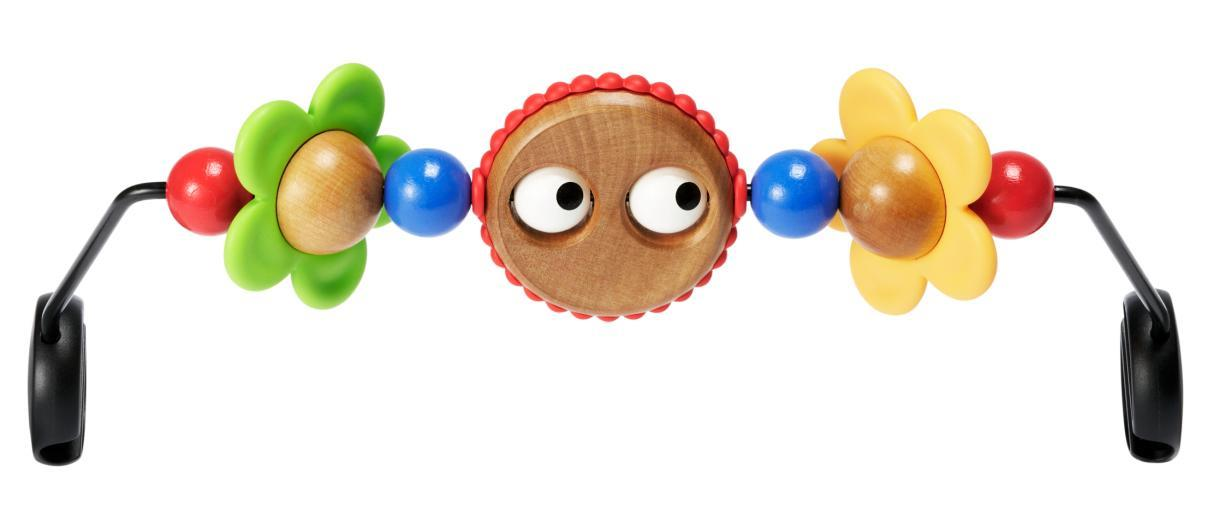 BabyBjorn Wooden Toy For Bouncer – Googly Eyes