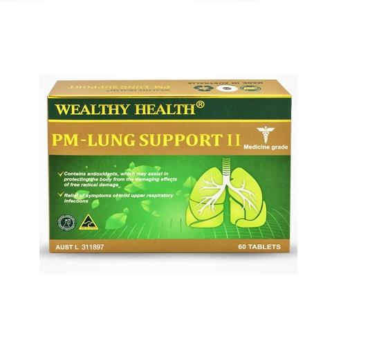 Wealthy Health PM – Lung Support II Tab X 60