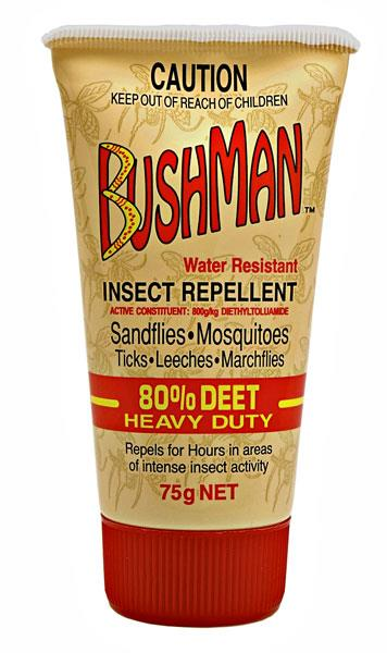 Bushman Insect Repellent (Water Resistant) 75g