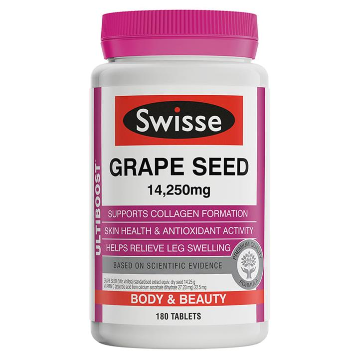 Swisse Ultiboost Grape Seed Tab X 180