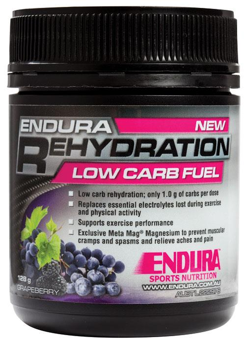 Endura Low Carb Rehydration Fuel (Grapeberry) 128g