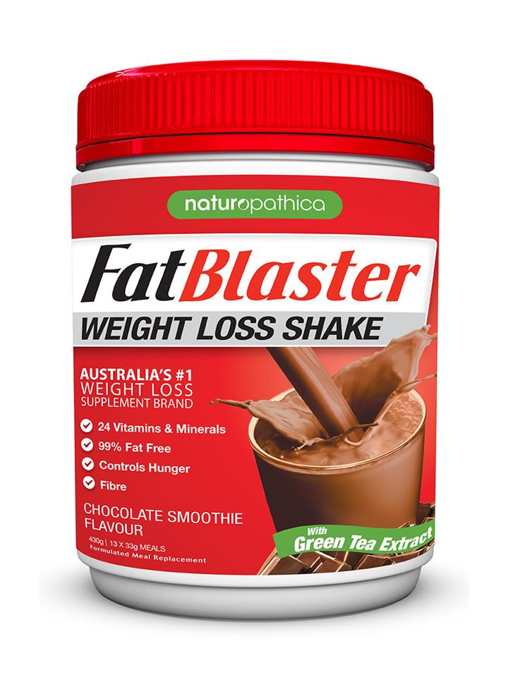 FatBlaster Weight Loss Shake Chocolate Smoothie 430g (13 meals)