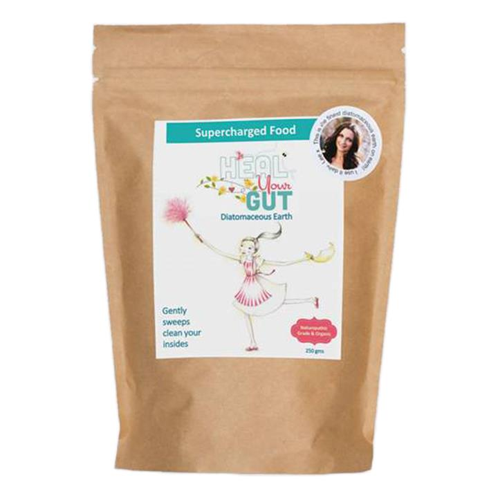 Supercharged Food Love Your Gut Diatomaceous Earth 250g