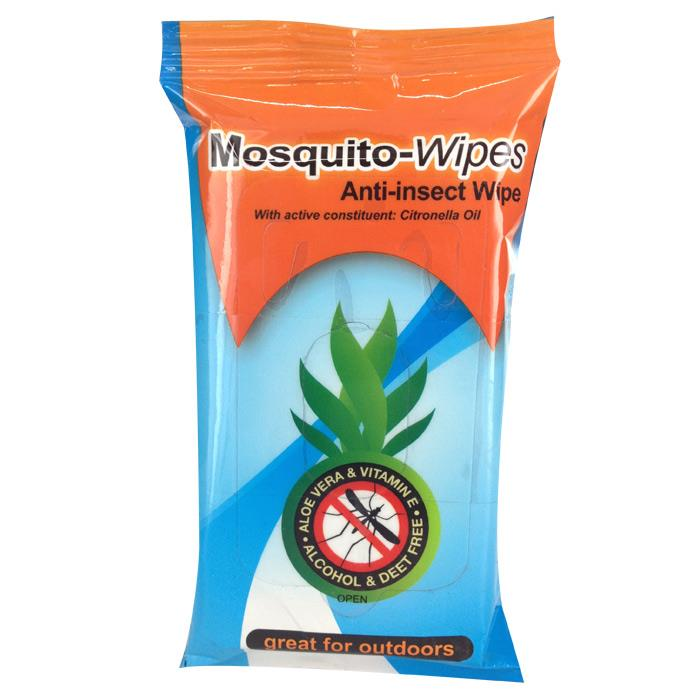 Mosquito-Band Anti-Insect Wipe X 10 X 3