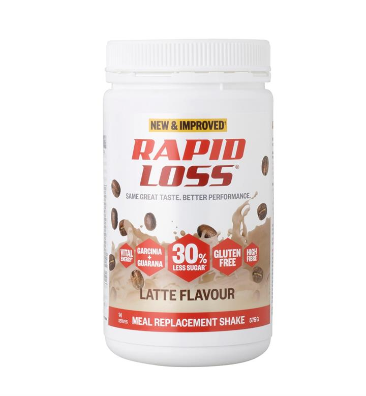 Rapid Loss Latte Shake 575g