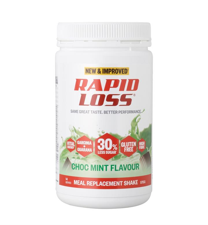 Rapid Loss Choc Mint Shake 575g