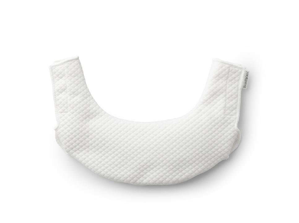 BabyBjorn Teething Bib for Baby Carrier One – White