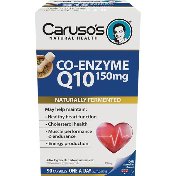 Caruso's Co-Enzyme Q10 150mg Cap X 90