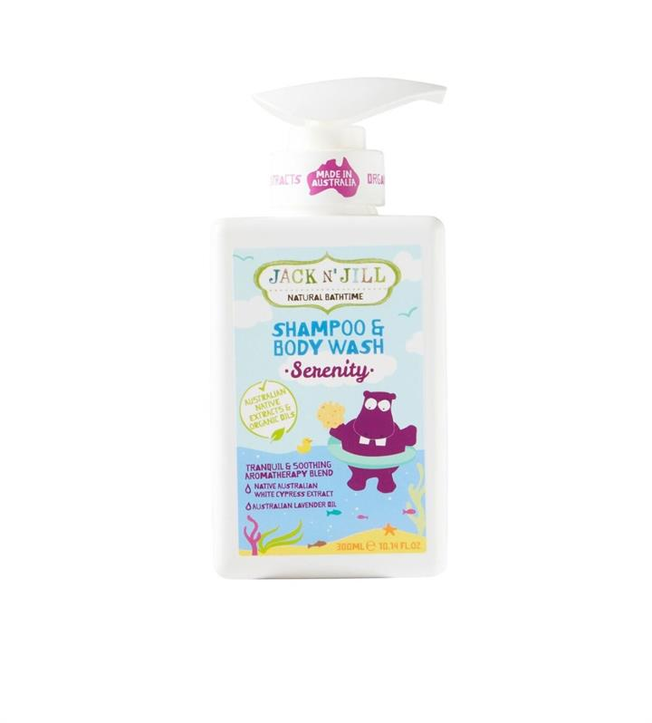 Jack N' Jill Serenity Shampoo & Body Wash 300ml