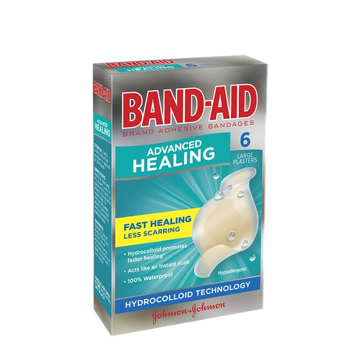 Band-Aid Advanced Healing Large X 6