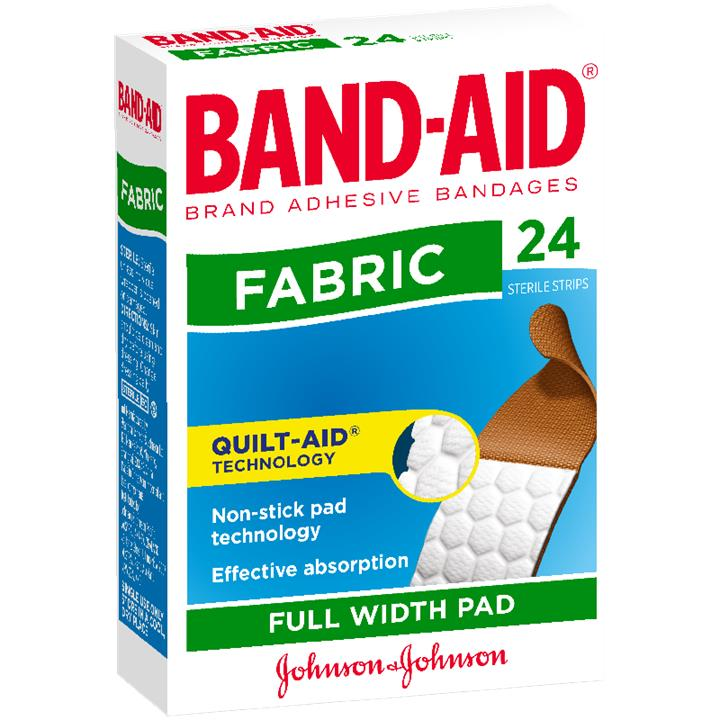 Band-Aid Strips Fabric X 24